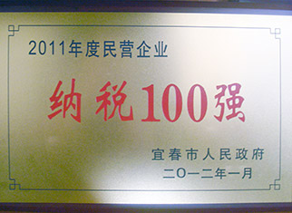 2011年纳税100强
